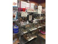 THE GOOD COOKSHOP Dundee ALL FIXTURES AND FITTINGS FOR SALE .racking , display cabinets , shelving