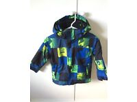 Quiksilver ski jacket/winter coat for boy age 5/6 years