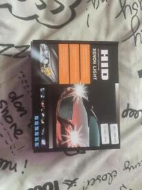 HID xenon light kit brand new