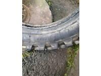 Pit bike rear tyres 80/100×12