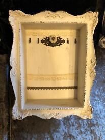 Shabby chic key / letter / envelope / frame holder