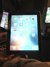 Black iPad 3 32gb PRICE LOWERED unlocked wifi and cellular model good condition