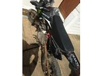 Pitbike semi automatic