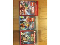 Triple Lego game bundle