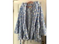 Boux Avenue Lamb Cropped Dressing Gown Robe