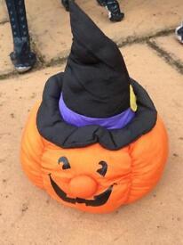 Box full of Halloween things