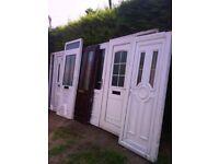 6 upvc doors spares repaires too good too scrap useful job lot clearance