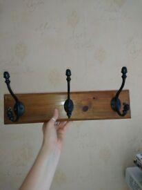 Solid Wood Coat Hook