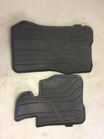 BMW 4 Series Gran Coupe - Front rubber mats