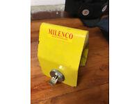 Caravan or trailer Milenco security lock