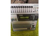 Yamaha o1v digital mixer with adat