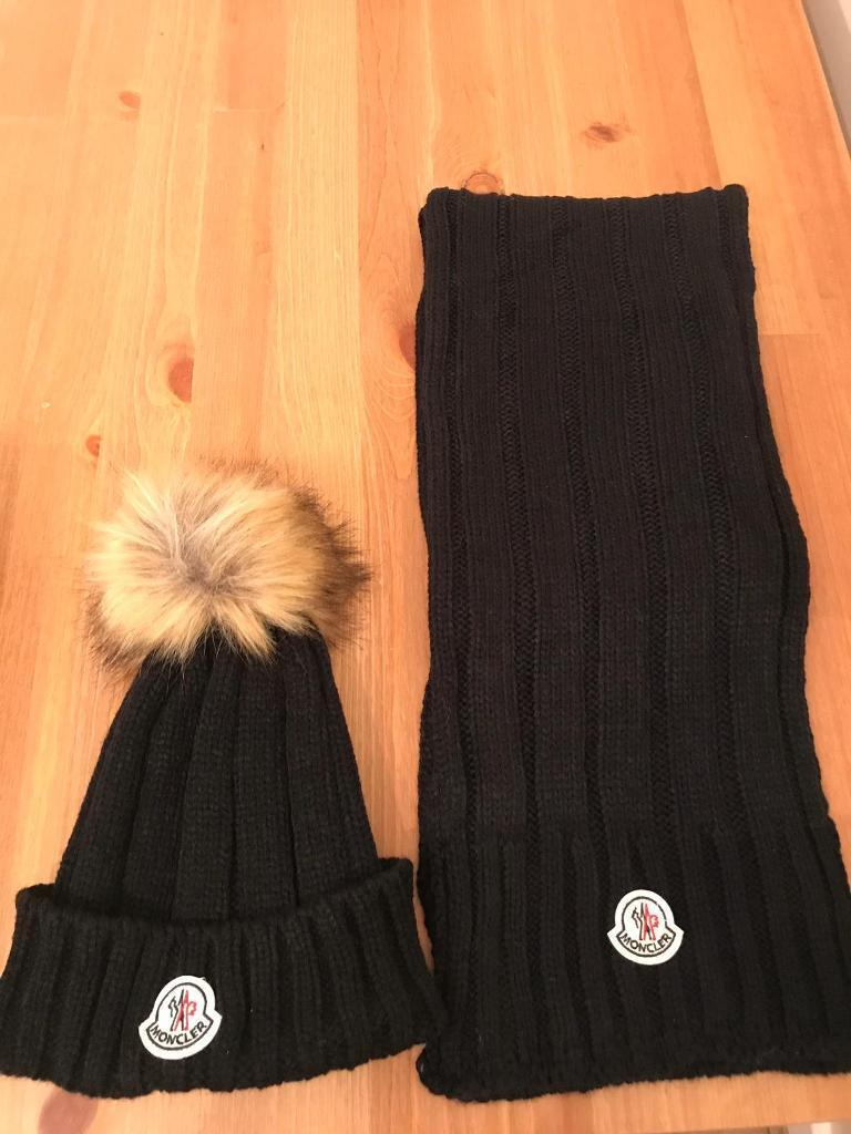 025a5302ce6a Moncler hat with scarf box gift set