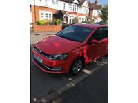 Volkswagen Red Polo 1.2 TSI BlueMotion Tech Match 5dr