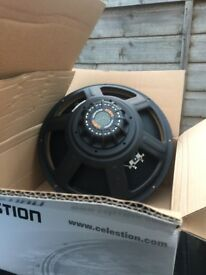 Celestion Speaker 15 '' nearly new !