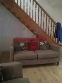 2x a 2 seater sofa and a 3 seater