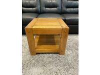 SOLD pending collection Oak Furniture Lamp Table