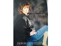 deborah Watling Signed Photo