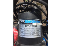 APP SUBMERSIBLE PUMP TPS-200SA - USED TWICE