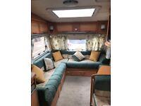 Ace Award 4 Berth Caravan with awning and motor mover