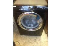 Hoover washing machine 8kg black immaculate condition