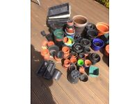 Plant pots and seed trays
