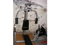 Gym for sale,dumbbells, barbells, weights, Reebok machine,