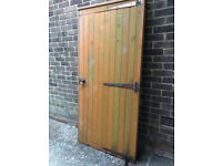 Wooden Gate 1840x870mm