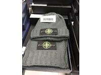Stone Island hat and scarf