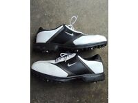 Nike Power channel mens golf shoes size 11 and Nike Golf Shoe/accessory Bag