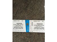 2x biffy clyro tickets