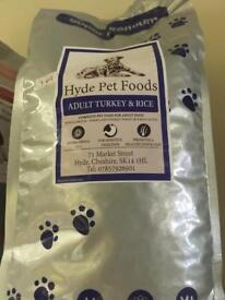 Premium dog food 2kg
