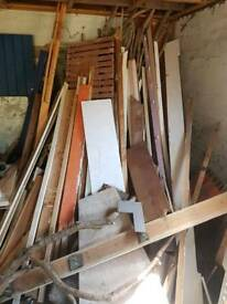 Free wood for collection from Shotesham