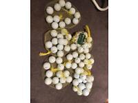 Golf balls titleist NXT tour; Callaway