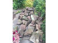 Sandstone rocks. 50+ all different sizes.