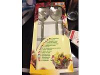 Salad spoon set
