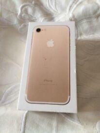 iPhone 7 (brand new) 32gb