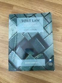 Tort Law: Text, cases and materials by Jenny Steele