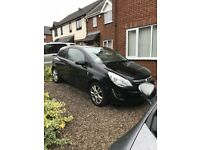 2011 61 Reg Vauxhall Corsa 1.3 SXI 3 Door Black - Non Runner - Repair or Spares