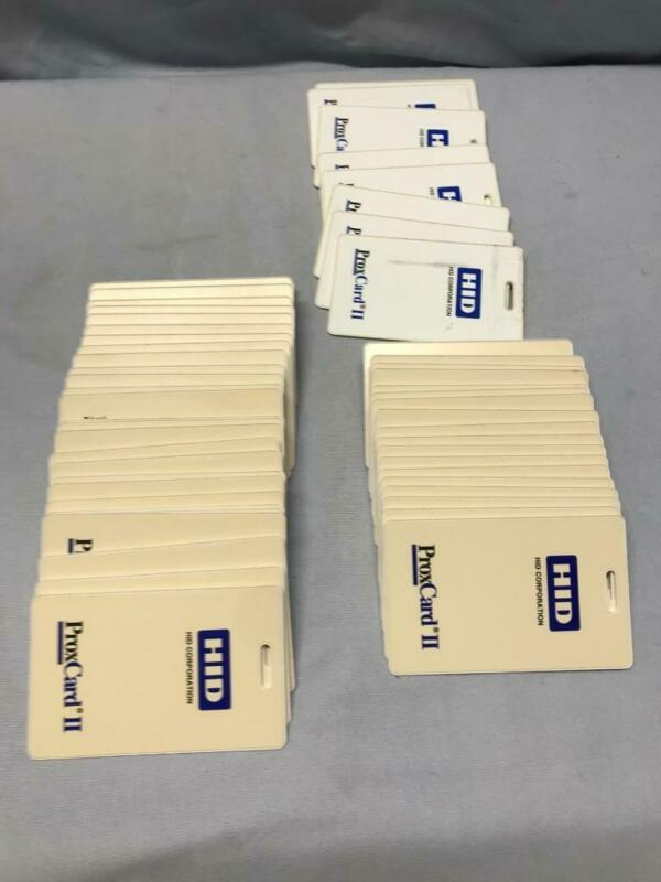Lot of (56) HID ProxCard II Keycards  for Security - Access Control - NOS