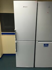 New Ex-Display Hotpoint XAL95T1UW Frost Free Fridge Freezer White £275