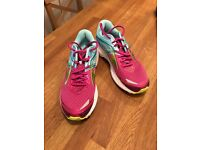 Brooks ladies trainers size 6 perfect condition- worn once - very comfortable and supportive