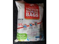 Vacuum Storage Bags and Hand Pump 8 Large and Medium. CAN POST