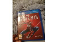 Spiderman playstion 4