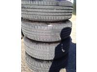 195/65/15 Vauxhall wheels