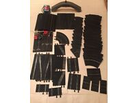 Scalextric Accessories - Track, track supports, barriers, bales, cones (NOT bridge)