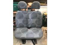 Mk7 transit double seat