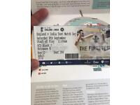 Oval test match 1 adult ticket