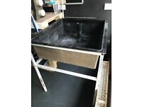 Waterproof vats with stand