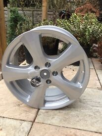 "Brand new 4x 18"" silver alloy wheels MSW (by OZ)"