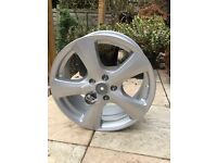 """Brand new 4x 18"""" silver alloy wheels MSW (by OZ)"""
